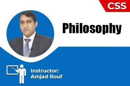 Philosophy by Amjad Rouf