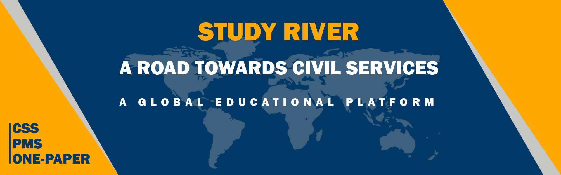 Study River | CSS, PMS, One-Paper and other competitive exams preparation