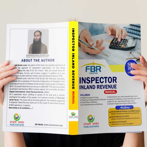 Inspector Inland Revenue book by Dr. Danish Ismail Lurka